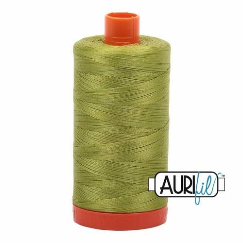 Aurifil 50wt Light Leaf Green (1147) thread