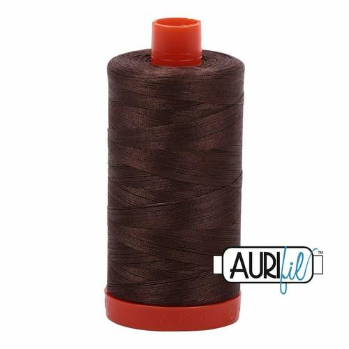 Aurifil 50wt Bark (1140) thread