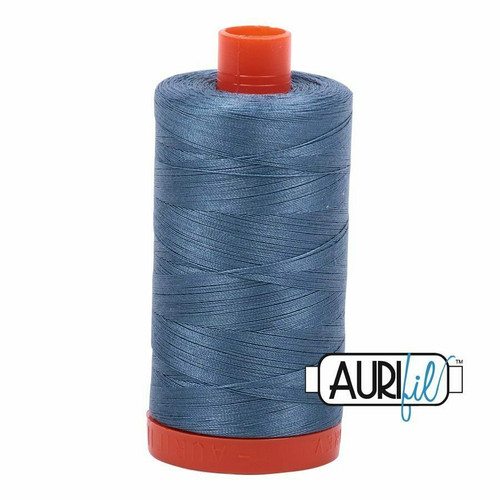 Aurifil 50wt Blue Grey (1126) thread