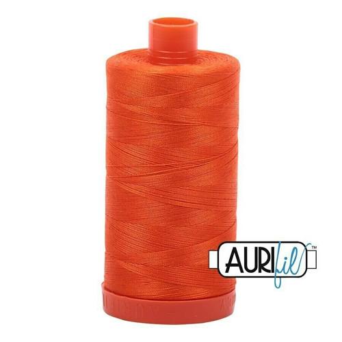 Aurifil 50wt Neon Orange (1104) thread