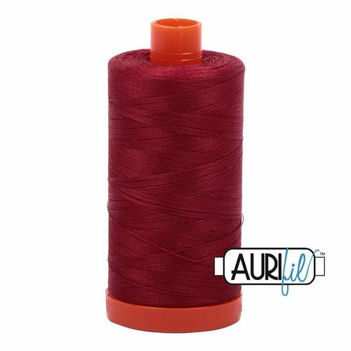 Aurifil 50wt Burgundy (1103) thread