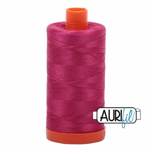 Aurifil 50wt Red Plum (1100) thread