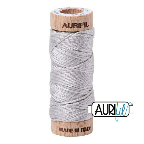 Aurifil Floss Aluminium (2615) thread