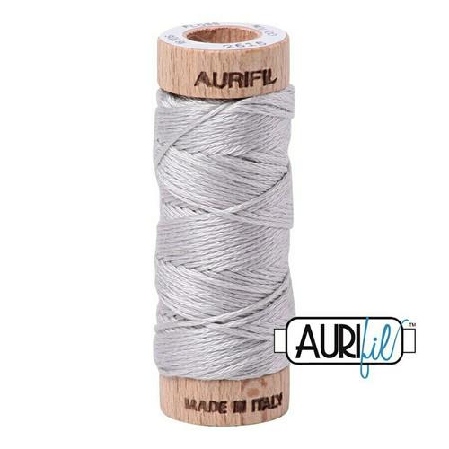 Aurifil Floss Aluminium (2615) thread