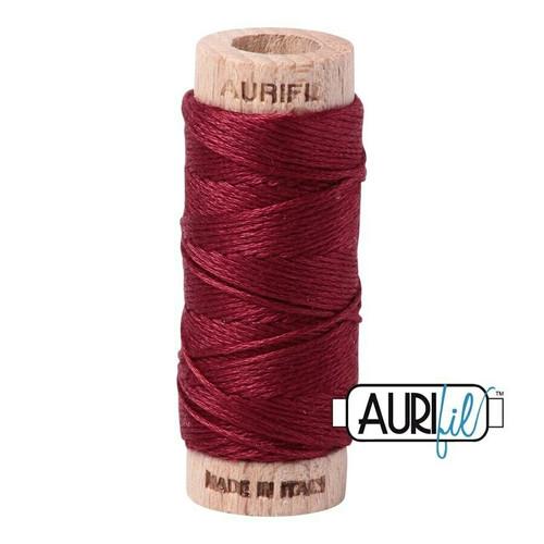 Aurifil Floss Dark Carmine Red (2460) thread