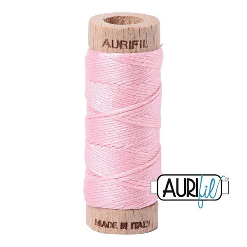 Aurifil Floss Baby Pink (2423) thread