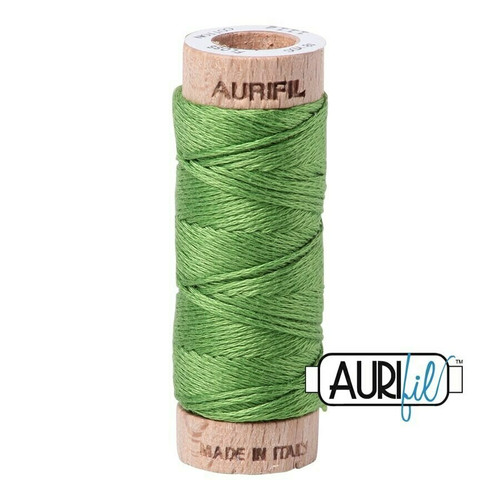 Aurifil Floss Grass Green (1114) thread