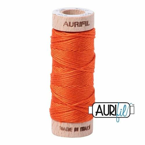 Aurifil Floss Neon Orange (1104) thread