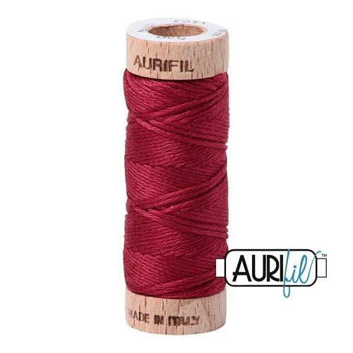 Aurifil Floss Burgundy (1103) thread