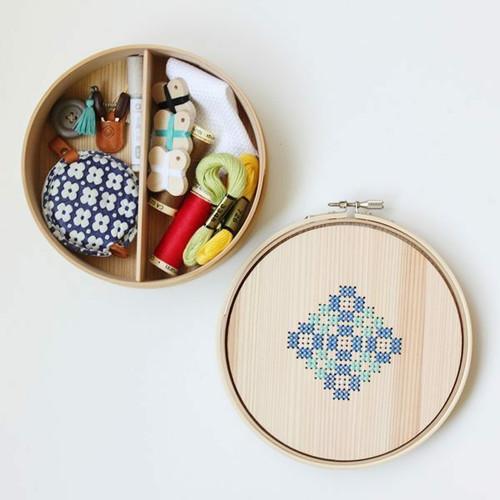Cohana Magewappa Embroidery Hoop Toolbox
