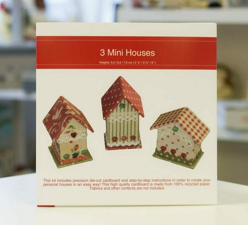 Rinske Stevens Designs : 3 Mini Houses