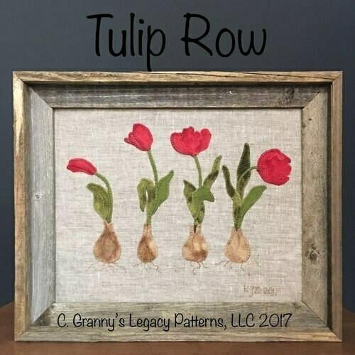 Granny's Legacy : Tulip Row Pattern