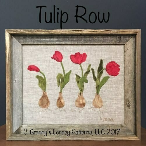 Granny's Legacy : Tulip Row Pattern and Kit