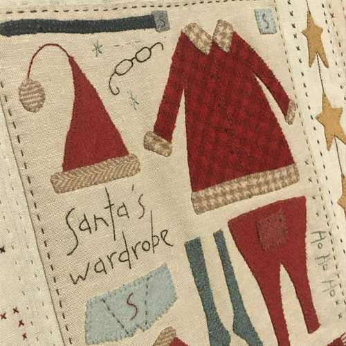 The Santa, The Tree, The Turkey and Me BOM by Anni Downs of Hatched and Patched