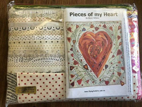 Wendy Williams : Pieces of my Heart - Quilt Kit