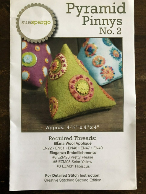 Sue Spargo : Pyramid Pinnys No. 2 Thread Pack
