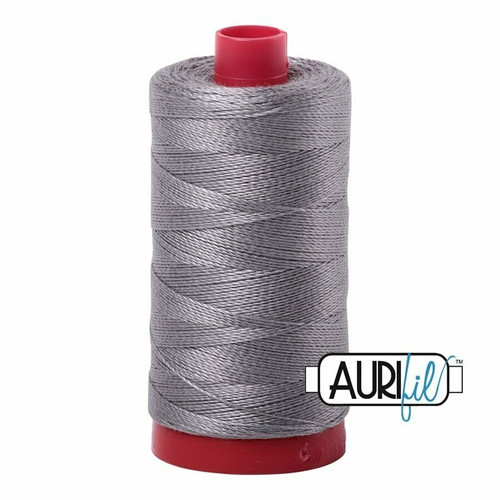 Aurifil 12wt Artic Ice (2625) thread