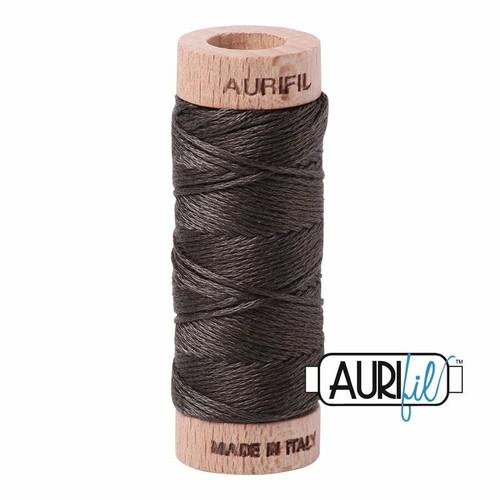 Aurifil Floss Asphalt (5013) thread