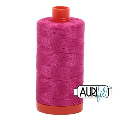 Aurifil 50wt Fuchsia (4020) thread