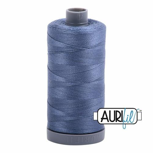 Aurifil 28wt Dark Grey Blue (1248) thread