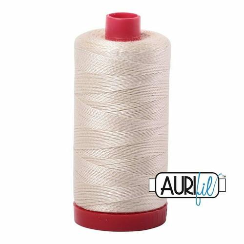 Aurifil 12wt Light Beige (2310) thread