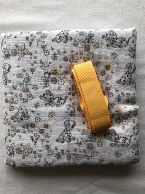 Muslin Baby Wrap - Dalmations