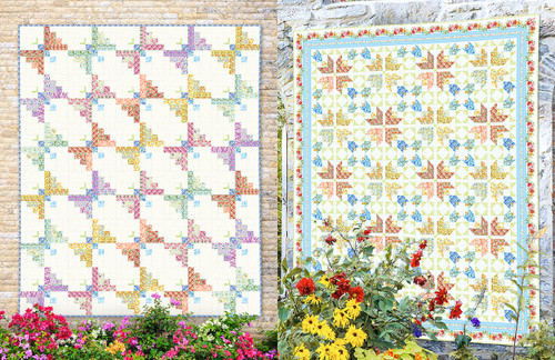 Charming Floral Quilts by Jason Yenter