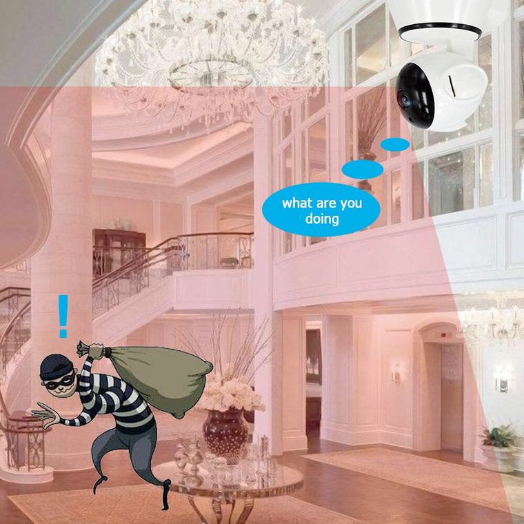Home Video Camera 720P HD WiFi IP Camera Wireless APP Control Security IR Night Vision Camcorder Home Baby Older Monitor
