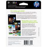 HP 21 22 SET | C9509FN | Original Ink Cartridges Standard Yield - CMYK