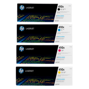 HP 410X SET | CF410X CF411X CF412X CF413X | Original HP Toner Cartridge - Black, Cyan, Yellow, Magenta
