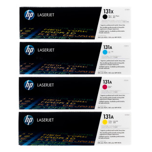 HP 131A SET | CF210X CF211A CF212A CF213A | Original HP Toner Cartridge - Black, Cyan, Yellow, Magenta
