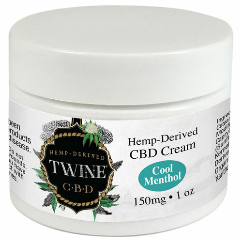 150mg CBD Topical Cream 99% Pure Organic CBD Isolate THC Free 1oz Cool Menthol
