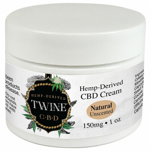 150mg CBD Topical Cream 99% Pure Organic CBD Isolate THC Free 1oz-Unscented Natural