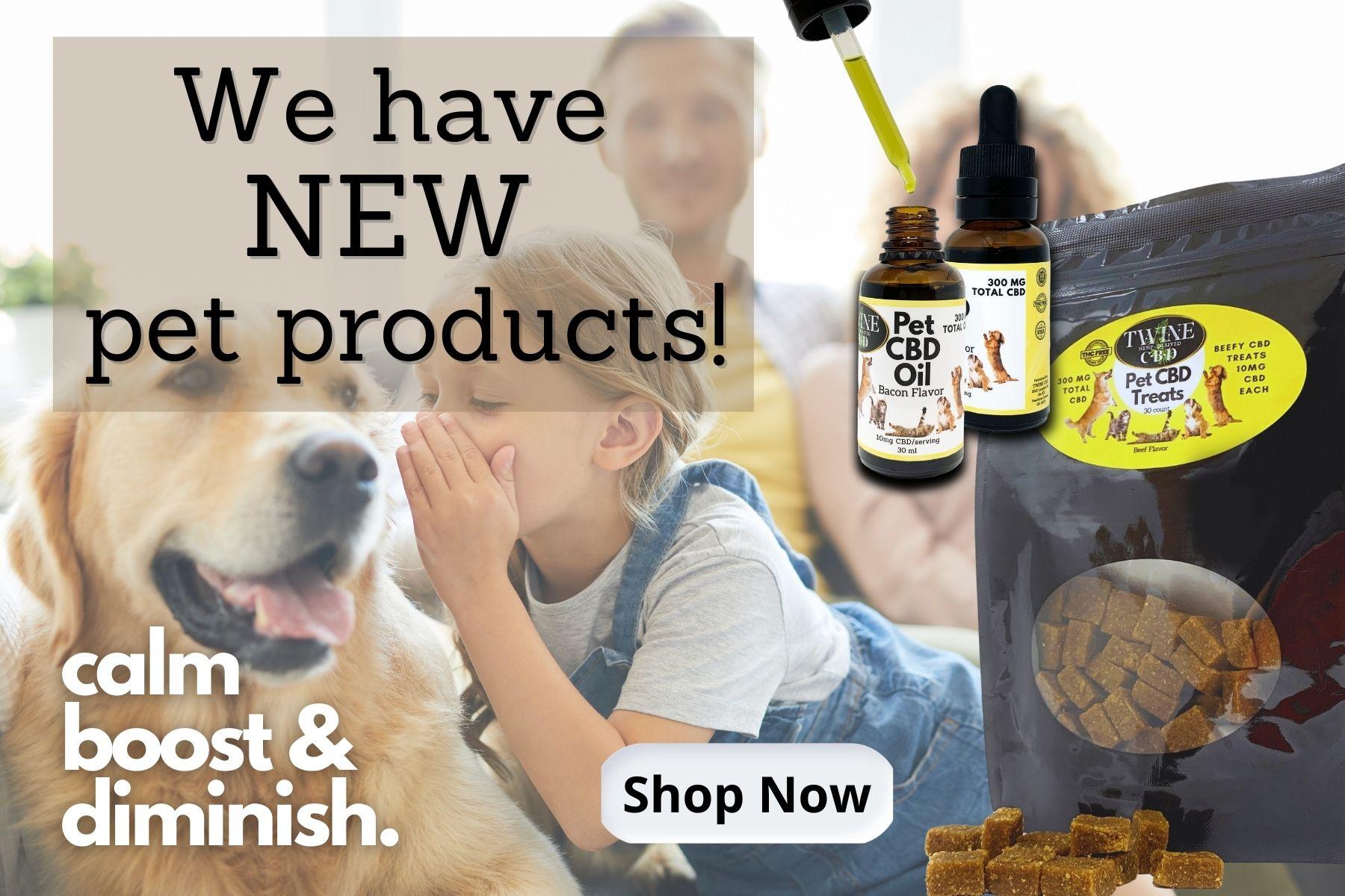 Shop CBD Pet Products