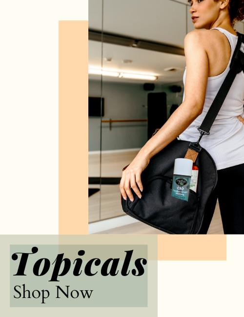 Shop CBD Topicals and Creams