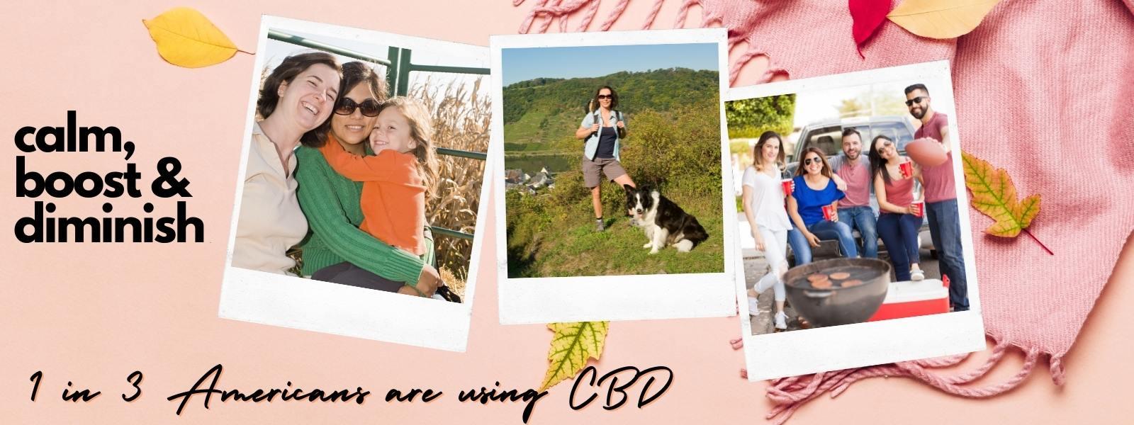 CBD Calm, Boost & Diminish