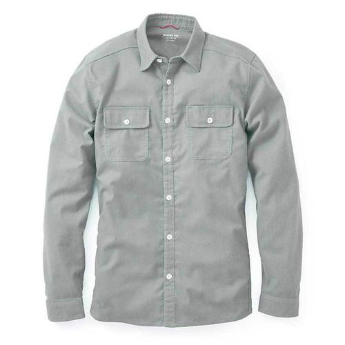 Wool Flannel — Grey