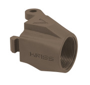 7dfe42437b Vector M4 Stock Adaptor for Hinged Receiver   FDE. KRISS