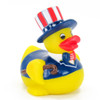 Patriotic Uncle Sam Rubber Duck  by Ad Line | Ducks in the Window®