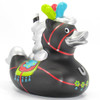 Carousel Horse Black Stallion Rubber Duck Bath Toy by Bud Ducks | Ducks in the Window®