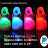 LED Glow Wizard Rubber Duck Bath Toy by Locomocean | Ducks in the Window®