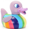 LED Glow Rainbow Rubber Duck Bath Toy by Locomocean | Ducks in the Window®