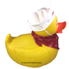 Valentine's Day Jumbo Rubber Duck with Sailors Cap and Bandana