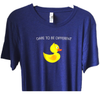 """Ducks in the Window """"Dare To Be Different"""" T-shirt"""