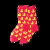 Rubber Duck Socks Pink