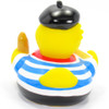 French Parisian Brie Rubber Duck by Schnabels by Schnabels  | Ducks in the Window