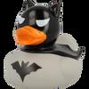 Batman Dark Grey Rubber Duck by LILALU bath toy   Ducks in the Window