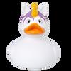 Unicorn Duck, White Rubber Duck by LILALU bath toy | Ducks in the Window