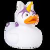 Unicorn Duck , White  Rubber Duck