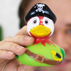 Pirate Parrot Rubber Duck by LILALU bath toy | Ducks in the Window